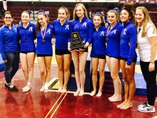 Gymnastics: Holy Angels takes home its first Bergen County championship