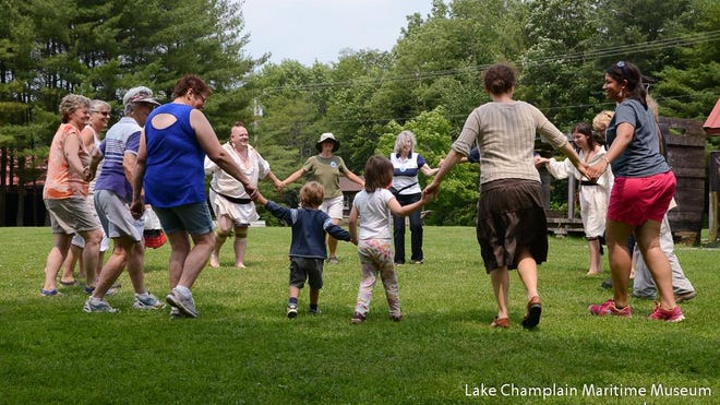 Visitors can join a social dance circle at Abenaki Heritage Weekend at the Lake Champlain Maritime Museum at June 23-24.