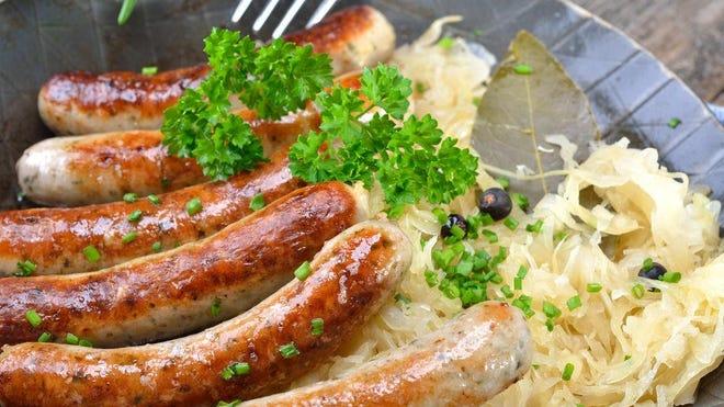 Gartenfest will feature plenty of authentic, fresh bratwurst from Geiers Sausage Kitchen in Sarasota.