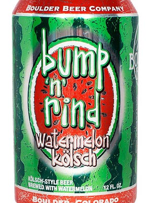 Bump 'n' Rind Watermelon Kolsch, from Boulder Beer Co. in Boulder, Colo., is 5.6% ABV.