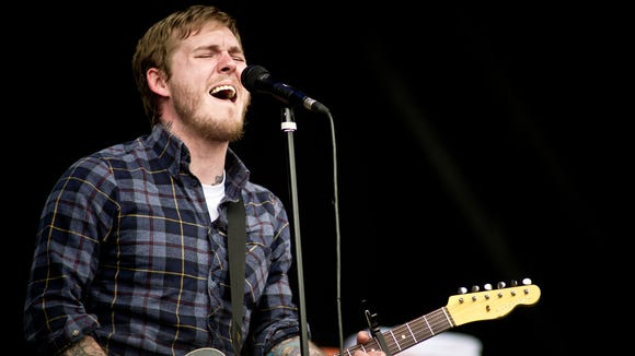 Brian Fallon, the leader of New Jersey rock band The Gaslight Anthem,brings his first-ever solo tour to Delaware this weekend.