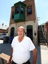 Hector Franco, 77, talks outside his Duranguito neighborhood