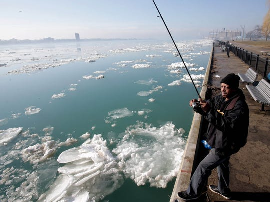 Ronnie Gotcher, 59 of Detroit has been fishing for