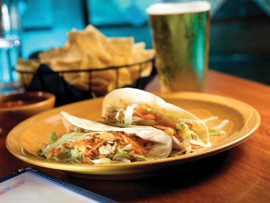 tacos from Blue Moon Mexican Cafe in Englewood