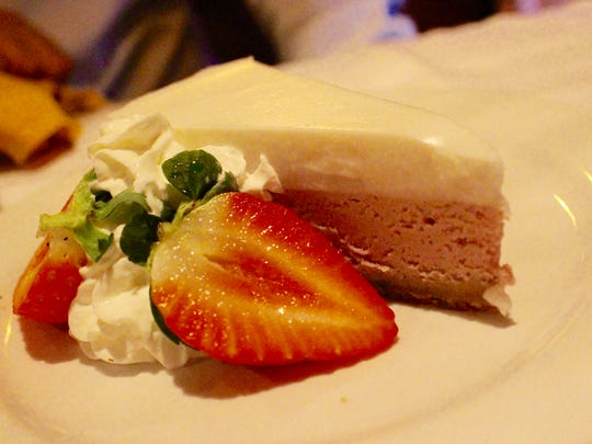 The traditional purple sweet potato pie is a slice of Hawaii right here on Bonita Beach Road.