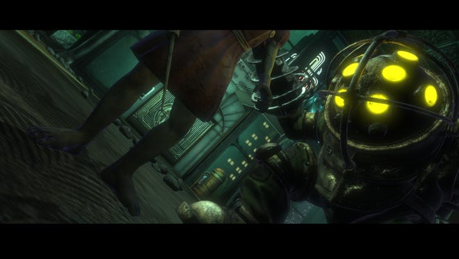 A scene from the 2007 game 'BioShock.'