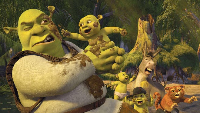 """""""Shrek the Third"""" will be screened 10 a.m. June 28 at Cinemark 14 in Parker Square as part of its popular summer family-friendly film series."""
