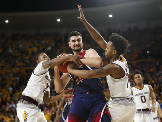 ASU vs Arizona basketball
