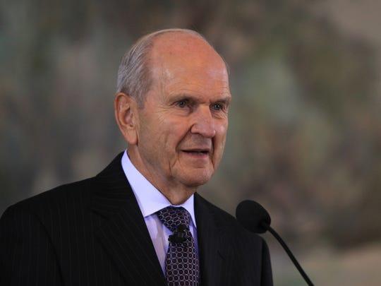 Elder Russell M. Nelson of the Quorum of the Twelve