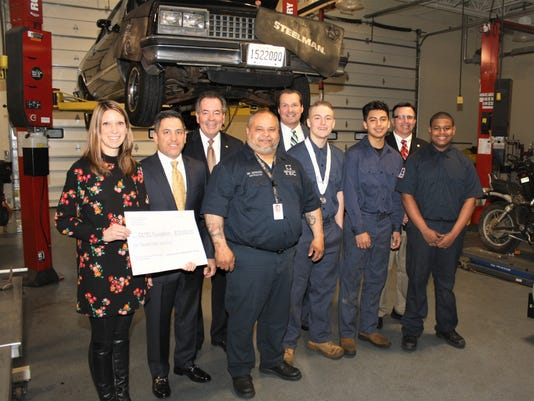 Donation to CCTEC automotive technology program