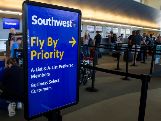 Southwest Airlines, which begins flying out of CVG