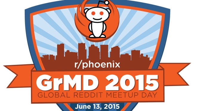 The first 100 people that show up to Phoenix's version of Global reddit Meetup Day will get a special gift with this logo on it.
