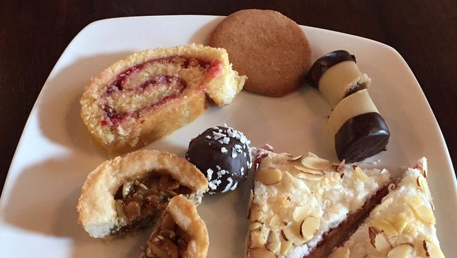 Assorted pastries at Fika Swedish coffee house in Covington.