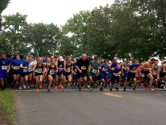 The Lansing Lighthouse 5K in August 2017.