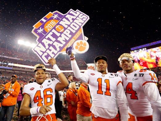 Clemson shocks Alabama in the College Football Playoff ...