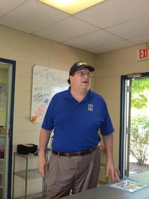 Novi City Councilmember Dave Staudt stands inside the recreation building at Novi's Lakeshore Park in this file photo.