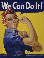 """""""We can do it!"""" poster featuring """"Rosie the Riveter"""""""
