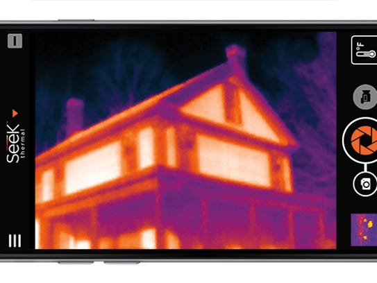 Seek's Compact thermal imager plugs right into your
