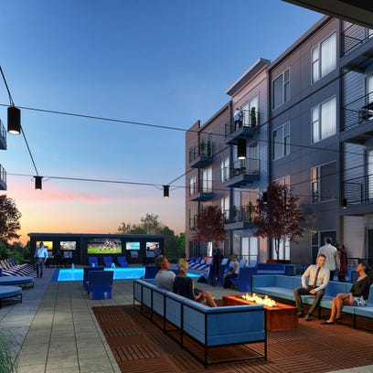 Luxury apartments could boost MainStrasse business