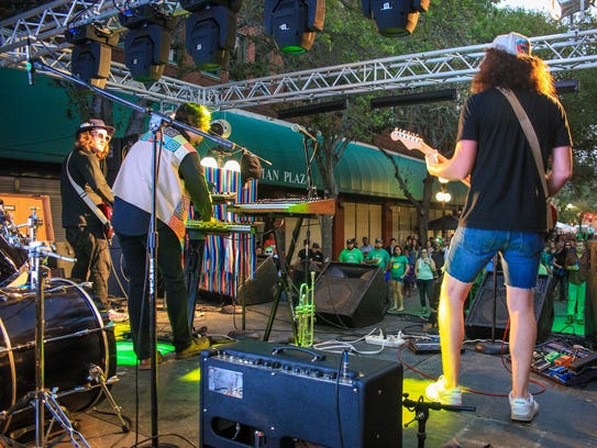Live music will be featured during the 2018 St. Paddy's