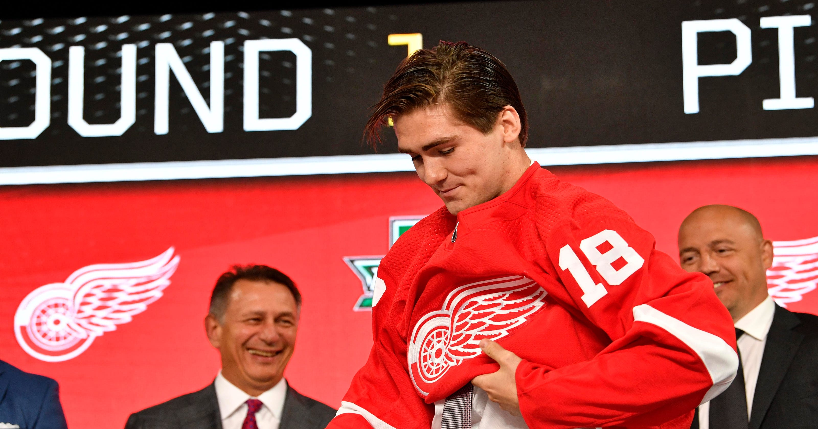 98ca51fbe Detroit Red Wings steal Filip Zadina with sixth pick in 2018 NHL draft