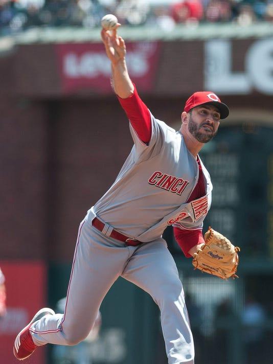 USP MLB: CINCINNATI REDS AT SAN FRANCISCO GIANTS S BBN SF CIN USA CA
