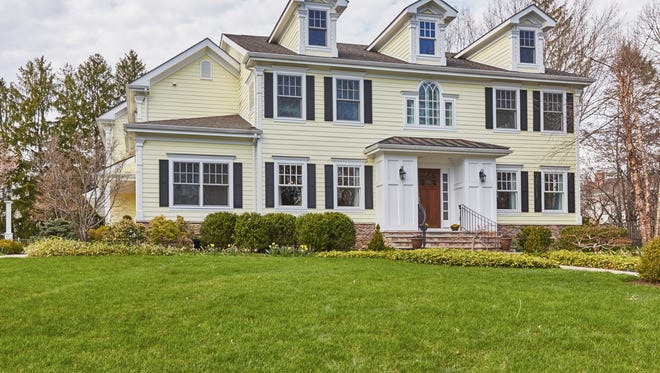 This classic Colonial offers 14 rooms on three finished levels. Coldwell Banker is marketing it at $2.1 million.
