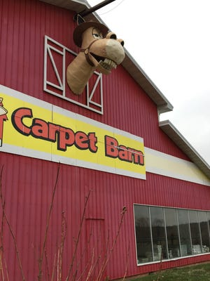 The Carpet Barn on Highway 13 is closing. It opened in 1973.