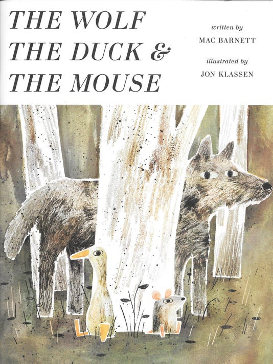 The Wolf the Duck & the Mouse