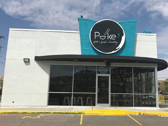 The Poke3 Restaurant is part of a trend of new poke-style
