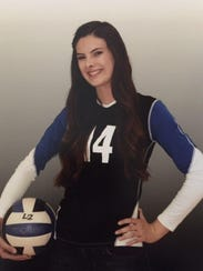 Glendale Cactus junior volleyball standout Brittnie