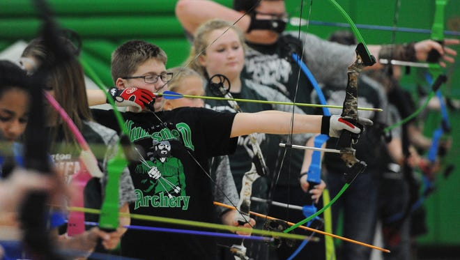 Huntington archery teams have all qualified to take part in the world championships in July after their performances in the national championships.