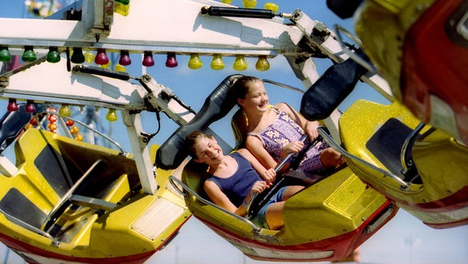 A ride is shown during the Sherburne County Fair in a Times file photo.