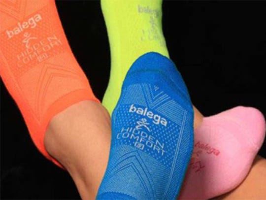 Balega socks offer performance features to keep feet