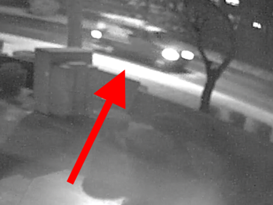 Anyone with information on this vehicle, which is believed