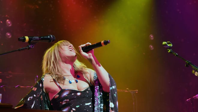 Grace Potter performs a sold-out show at the Boulder Theater in Boulder, Colorado, in February.