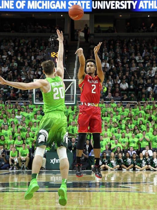 NCAA Basketball: Maryland at Michigan State