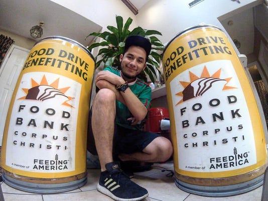 Omar Arellano and Food Bank