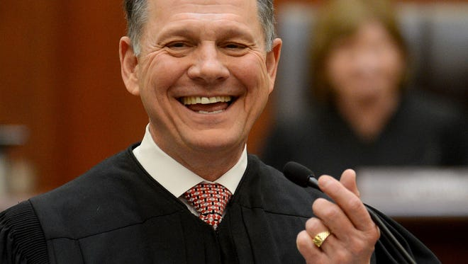 Alabama Chief Justice Roy Moore. The Alabama Supreme Court said teeth-whitening services have impacts on public health, and the law limiting execution of the procedures to licensed dentists does not violate due-process protections in the state constitution.