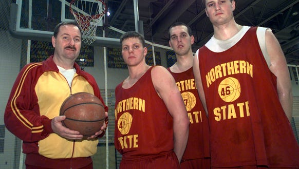 Northern State basketball coach Bob Olson had solid