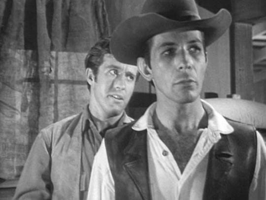 Leonard Nimoy and Clu Gulager in the D.C. Fontana written
