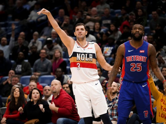 Nikola Mirotic is having his best season in the NBA, averaging 16.7 points per game.