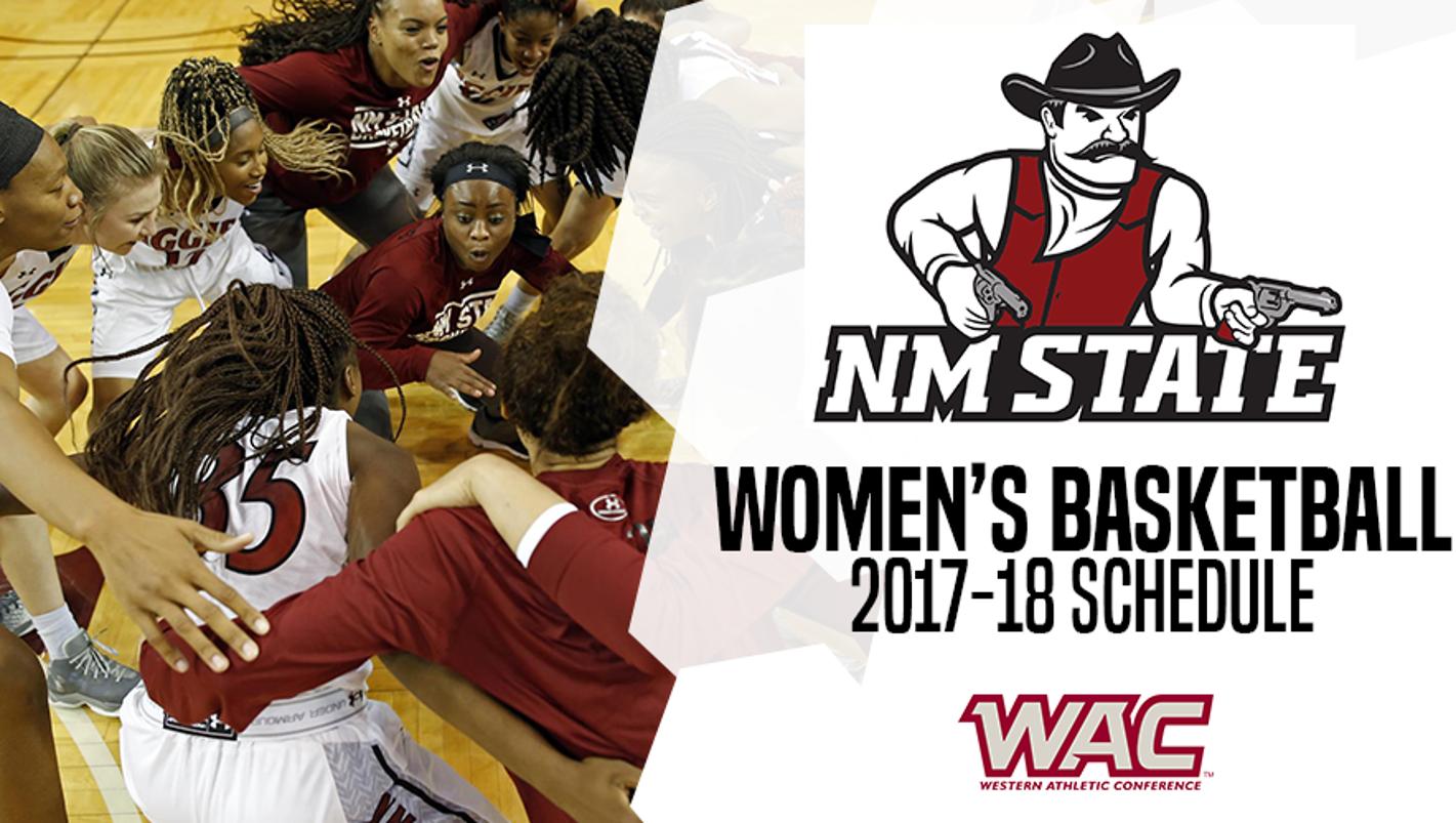 NMSU women's basketball releases schedule
