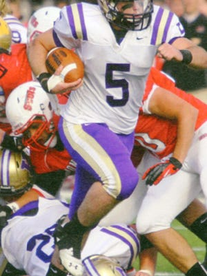 Derek Mortensen is Knox College's all-time leading rusher with 4,016 rushing yards in his career and a school record 43 touchdowns.