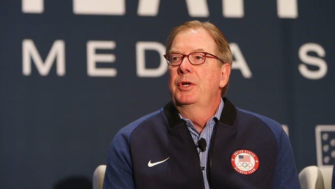 """USOC chairman Larry Probst has said the USOC would """"cooperate fully"""" with any House investigations."""