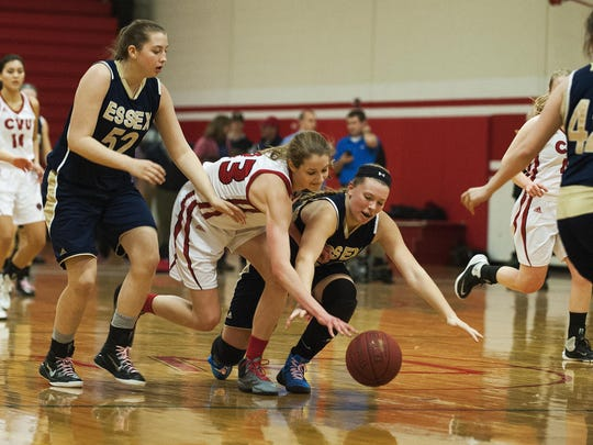 Kylie Acker, right, and Emmalee Smith, left, are two of the Hornets' top returning players for this season.