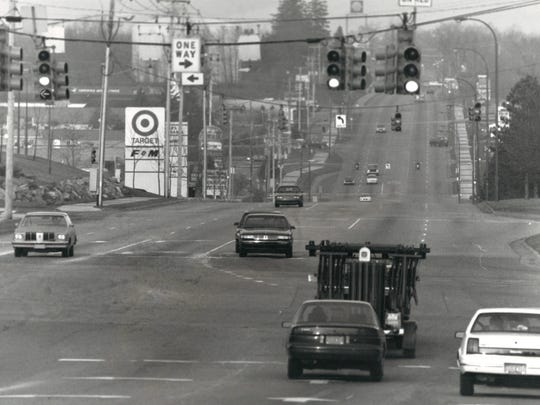 The Beckley Road corridor captured in this undated Enquirer photo.
