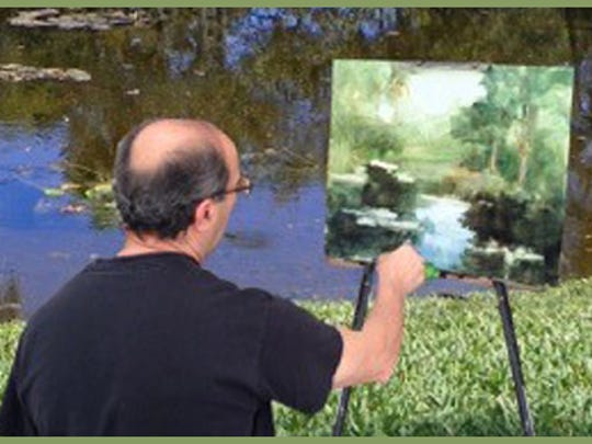 Jack Hagop Keledjian, plein air artist workshop instructor