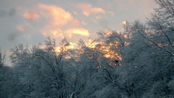 "Karen Hunt of Felton submitted this photo. Hunt writes: ""Winter Sunset."""
