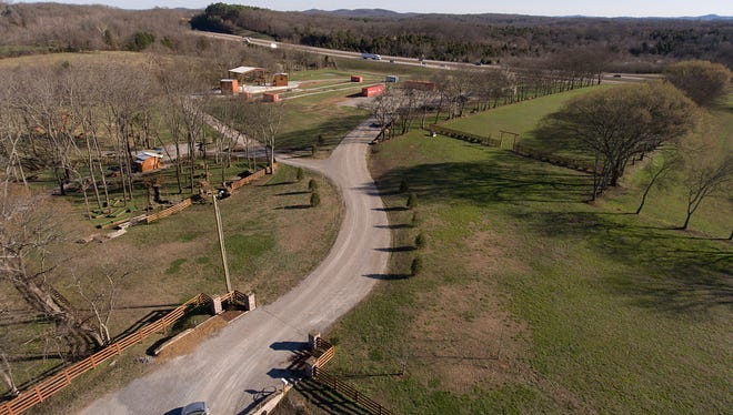 The Farm at Dolan's Creek is an upcoming outdoor event and concert venue in Arrington, Tenn.